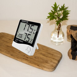 Large Display Thermometer and Hygrometer HTC2