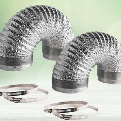 Non Insulated Aluminium Air Ducting