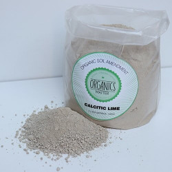 Organics Matter Calcitic Lime